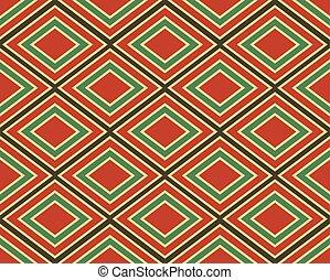 Vintage geometric pattern.
