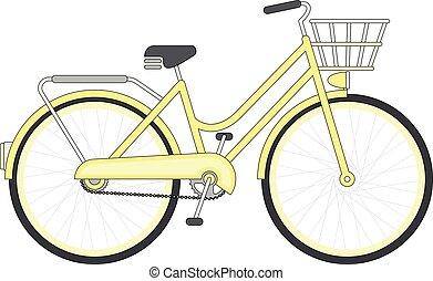 Vintage Girls Bicycle