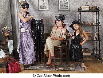 Vintage girls