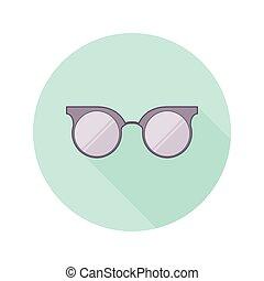 Vintage glasses icon, vector illustration design.