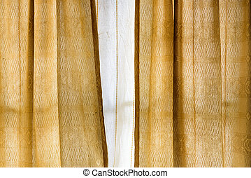 Vintage gold curtain background