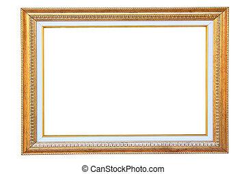 Vintage gold wood frame