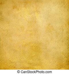 Vintage golden paper texture background