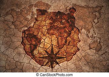 vintage gran canaria map