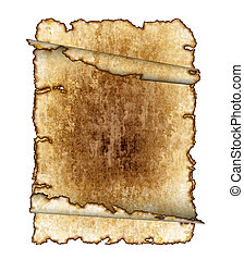 vintage grunge textured parchment scrolls, antique background texture of a paper pages, highly detailed
