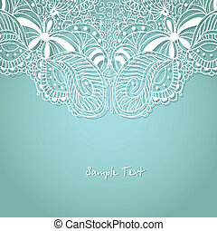 Vintage hand drawn background for your design