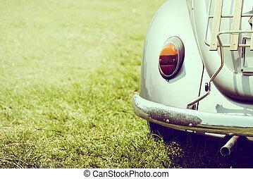Vintage Headlight car