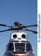 vintage helicopter