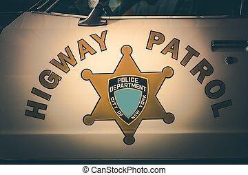 Vintage Highway Patrol
