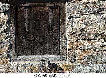 Vintage Hinged Window 4169A