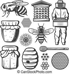 Vintage Honey Elements Collection
