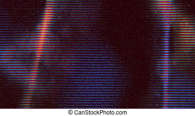 4K Reel Clutter, Old Tv and film grain noise. VHS real defects noise and artifacts, glitches from an old tape. Use screen mode to add Damage video effect on your video.
