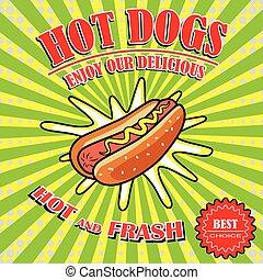 Vintage Hot Dogs