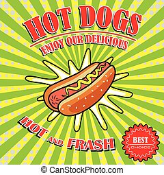 Vintage Hot Dogs