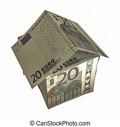 Vintage House of Money - Vintage looking House of money made...
