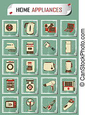 vintage household appliances