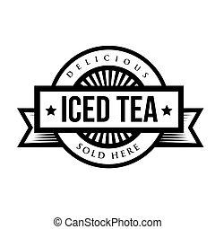 Vintage Iced Tea sign or logo