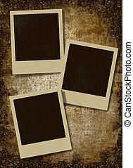 vintage instant photo frames