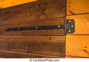 Vintage Iron Door Hinges