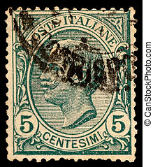 Vintage Italy Postage Stamp