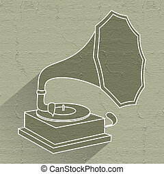 vintage jukebox icon