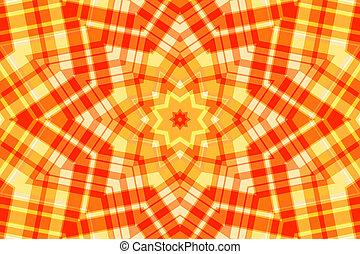 Vintage kaleidoscope design