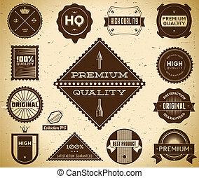 Vintage labels. Collection 5