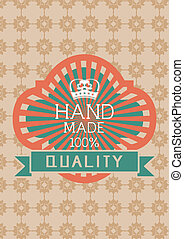 vintage labels set, vector with eps