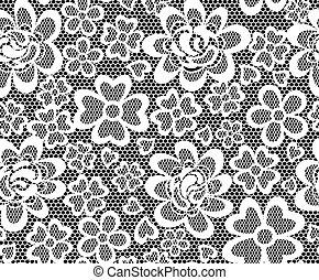 lace embroidery seamless pattern