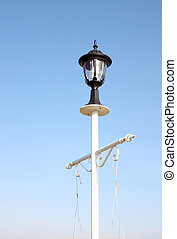 vintage lamp post