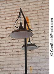 Vintage lamps.