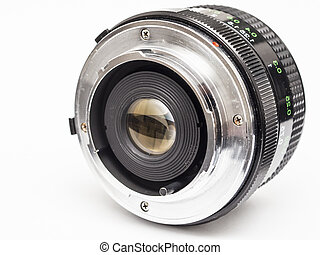 Vintage Lens - Old Prime Lens With Classic M42 Mount On A ...