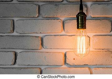 vintage light lamp decoration