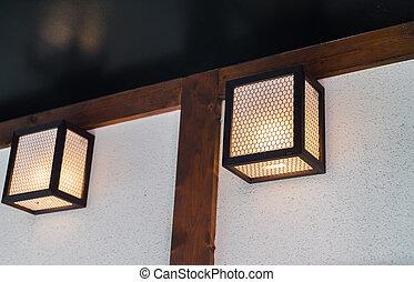 Vintage Lighting decor .