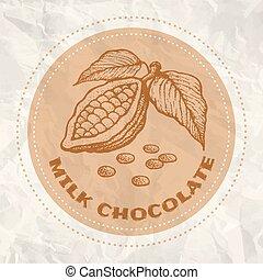 Vintage logo of cocoa