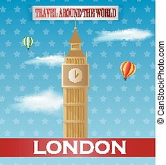 Vintage London Travel vacation post