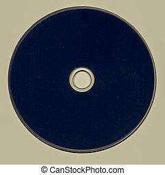 Vintage looking Black CD