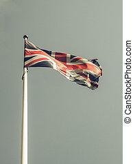Vintage looking United Kingdom flag