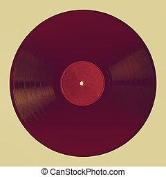 Vintage looking Vintage 78 rpm record