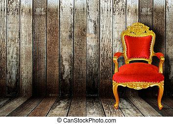vintage luxury chair