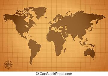 Vintage Map Illustration