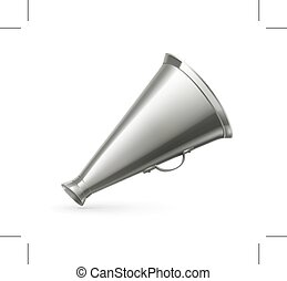 Vintage megaphone illustration