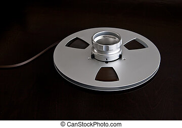 Vintage Metal Audio Reel