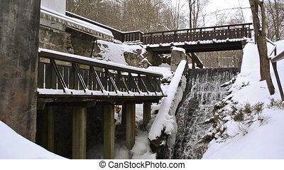 vintage mill brook winter