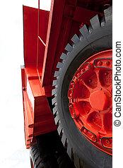 Vintage mining truck