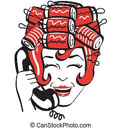 Vintage Mom Mother Phone Telephone