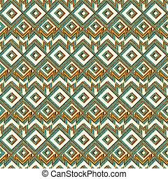 Vintage mosaic seamless pattern.