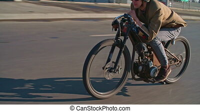 Vintage Motorbiker