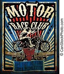 Vintage Motorcycle vector Set. Tee graphic design motorbike vector set