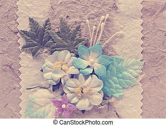 Vintage mulberry paper craft